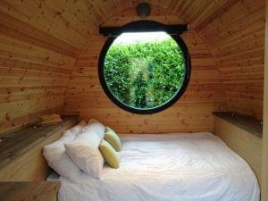 Armadillo double bed setup