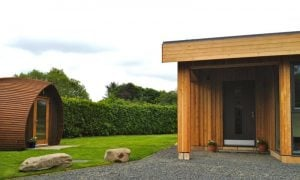 Greenhouse porch