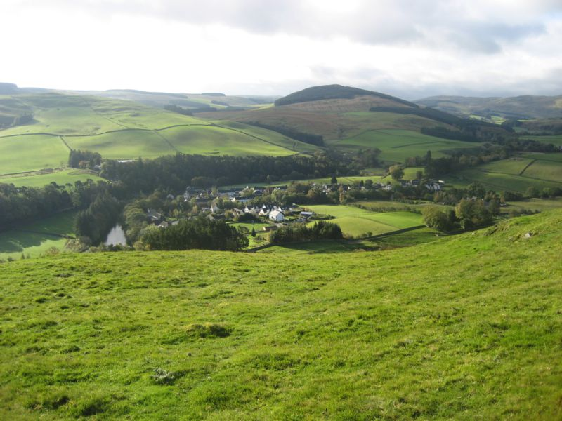 Walking in The Ettrick Valley